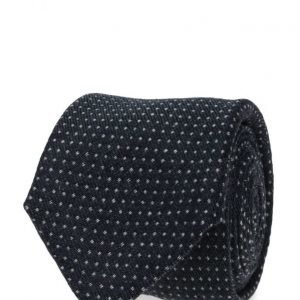 ATLAS DESIGN Tie Dot Navy Line Blue solmio
