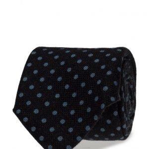ATLAS DESIGN Tie Polka Dot Navy Line Navy solmio
