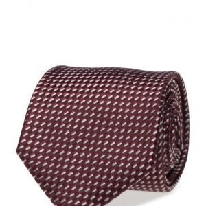 ATLAS DESIGN Tie Semi Plain Wine solmio