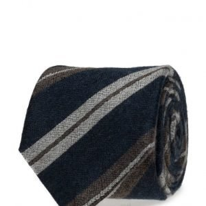 ATLAS DESIGN Tie Stripe Blue solmio