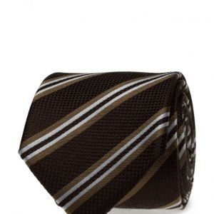 ATLAS DESIGN Tie Stripe Brown solmio