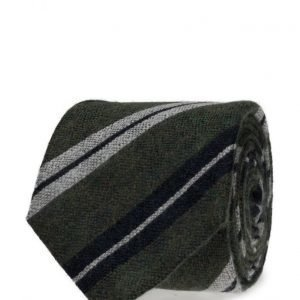 ATLAS DESIGN Tie Stripe Green solmio