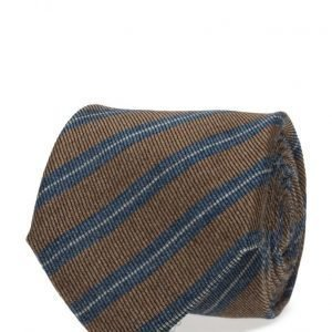 ATLAS DESIGN Tie Stripe Navy Line solmio