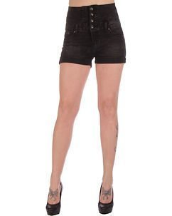 Abby High Waist Shorts