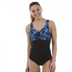 Abecita Butterfly Swimsuit Kanters Delight Uimapuku Musta / Sininen