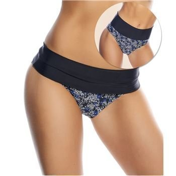 Abecita Petit Fleur Folded Brief Black