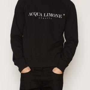 Acqua Limone College Classic Collegepusero Black