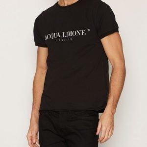 Acqua Limone T-Shirt Classic T-paita Black