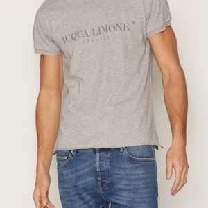 Acqua Limone T-Shirt Classic T-paita Grey