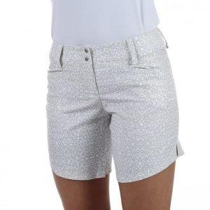 Adidas Advance Deco Print Short Shortsit Valkoinen