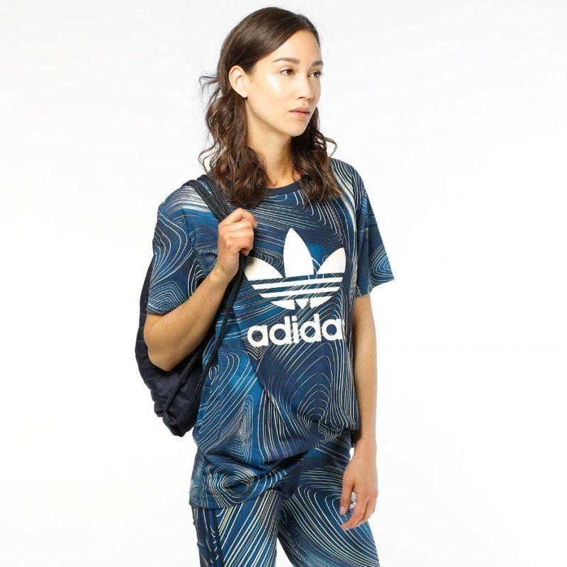 Adidas Blue Geology BF -t-paita