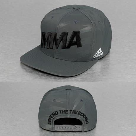Adidas Boxing MMA Snapback Lippis Harmaa