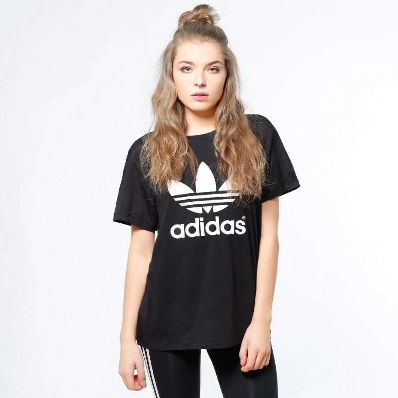 Adidas Boyfriend Trefoil -t-paita