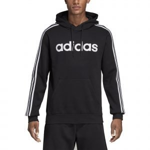 Adidas Essentials 3 Stripes Huppari Musta