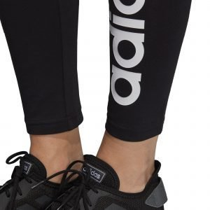 Adidas Essentials Linear Tights Treenitrikoot Musta