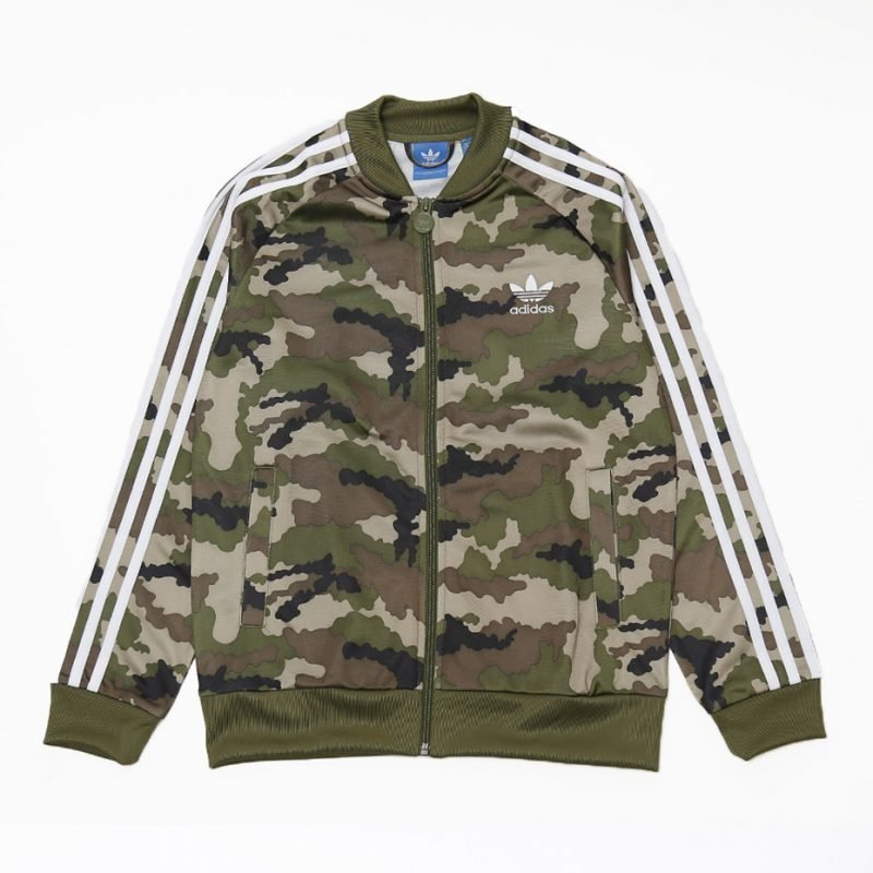 Adidas FR Superstar -juniori zip crew