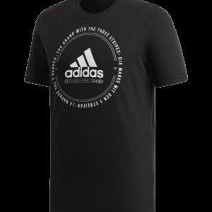 Adidas Mh Emblem Tee T-Paita