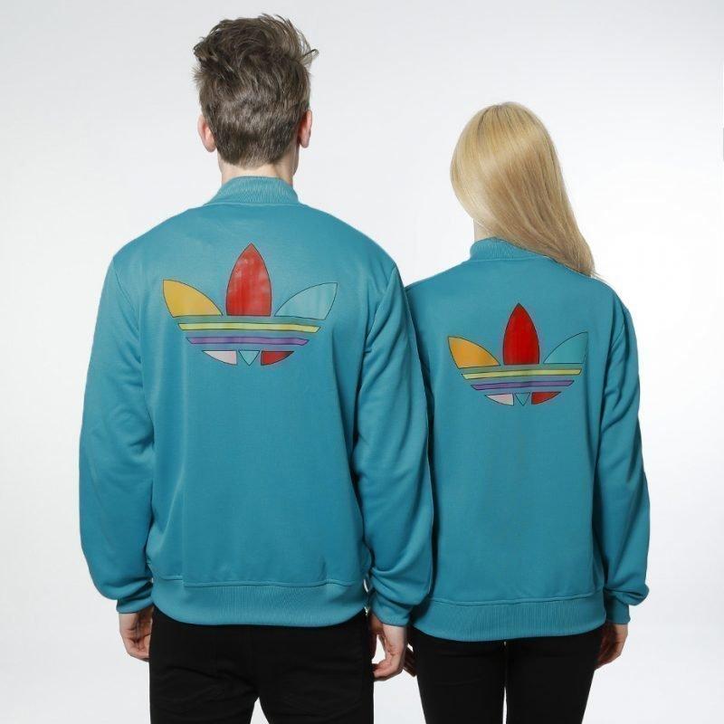 Adidas Mono Color SST Pharrell -zip crew