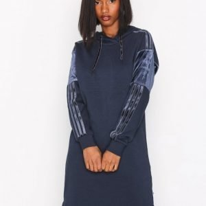 Adidas Originals Hood Dress Pitkähihainen Mekko Legend
