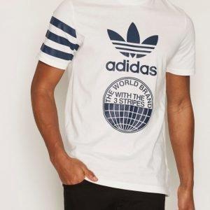 Adidas Originals Street Graph T T-paita Offwhite