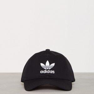 Adidas Originals Trefoil Cap Lippis Musta