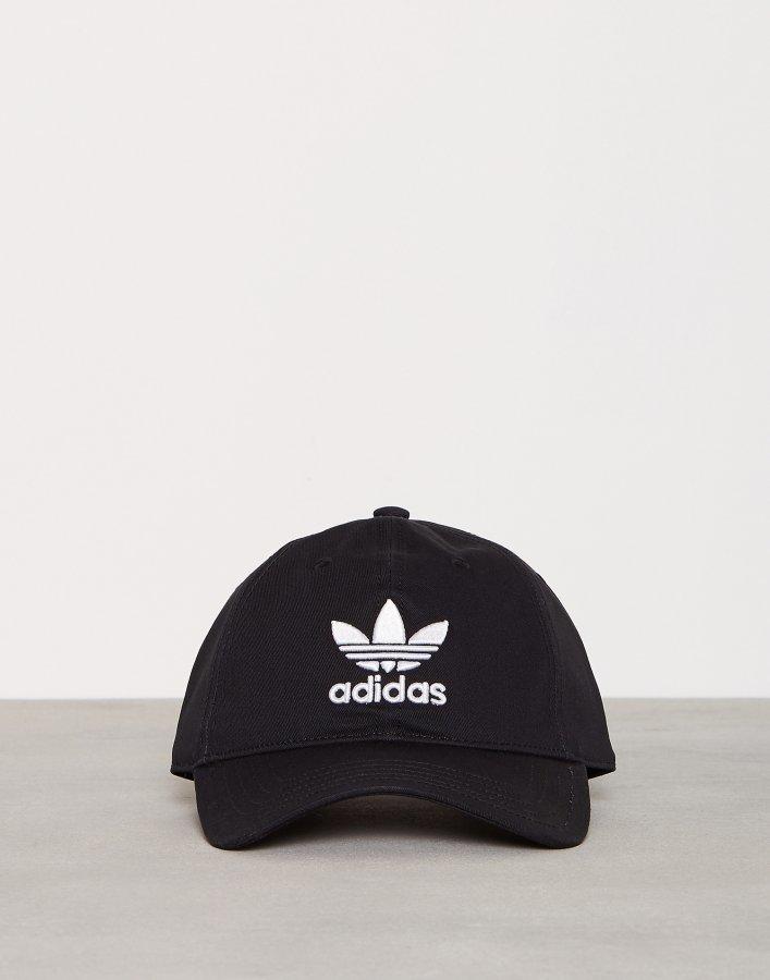 wholesale dealer 90830 40a53 Adidas Originals Trefoil Cap Lippis Musta