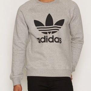 Adidas Originals Trefoil Crew Pusero Grey