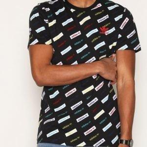 Adidas Originals Trf Aop Tee T-paita Black