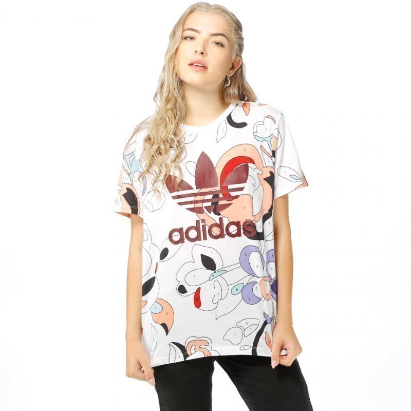 Adidas Rita Ora Trefoil -t-paita