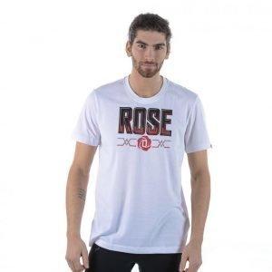 Adidas Rose Team Tee T-paita Valkoinen