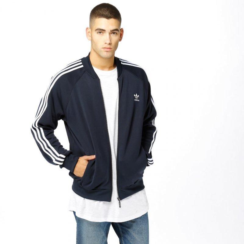 Adidas SST Tracktop -zip crew
