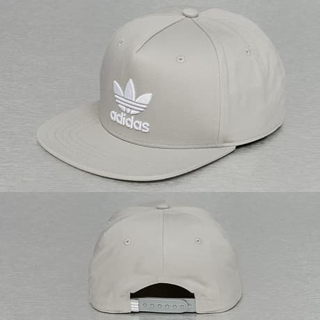Adidas Snapback Lippis Harmaa