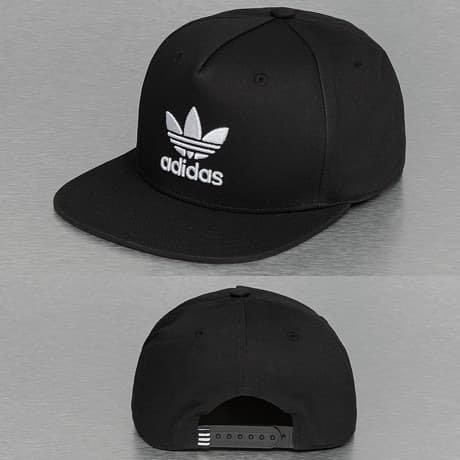 Adidas Snapback Lippis Musta