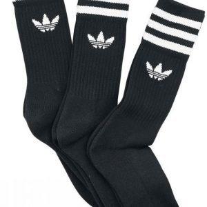 Adidas Solid Crew Sock 3 Pack Sukat