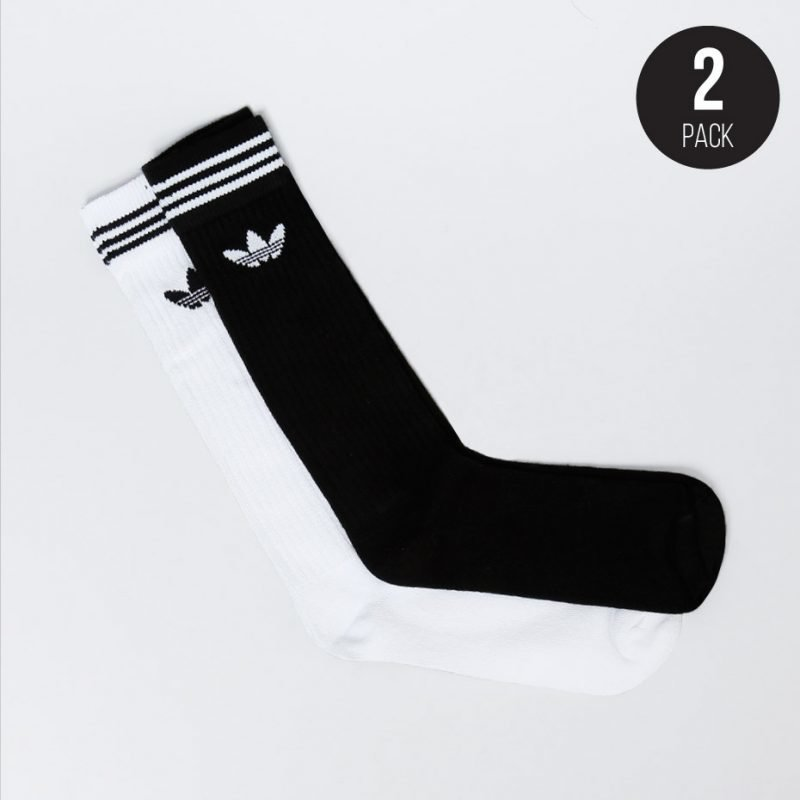 Adidas Solid Knee 2-pack -sukat