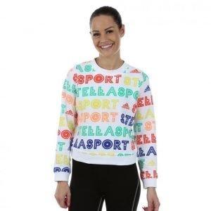 Adidas Stellasport Sweater Aop Treenipaita Valkoinen