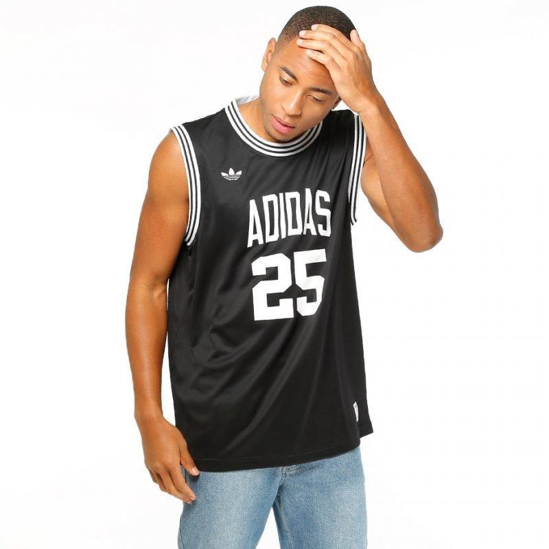 Adidas Team 25 Bball J -t-paita