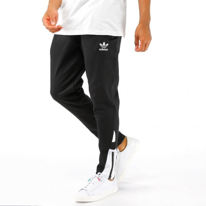 Adidas White Black Fitted -housut