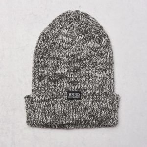 Adrian Hammond Ace Knitted Beanie Dark Grey