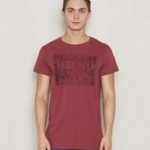 Adrian Hammond Addy Badge Tee Bleached Red