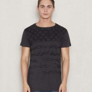 Adrian Hammond Addy Flag Tee Dark Grey