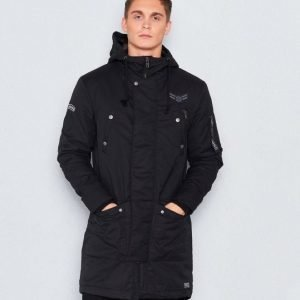Adrian Hammond Andy Parka Black