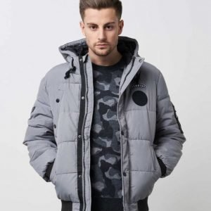 Adrian Hammond Arlo Jacket Light Grey