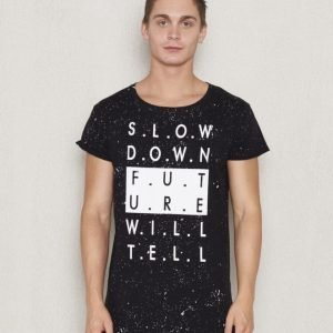 Adrian Hammond Arwin Word Tee Black Printed