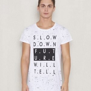 Adrian Hammond Arwin Word Tee White Printed