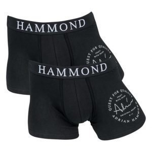 Adrian Hammond Bart 2-pack Boxer Black