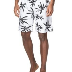 Adrian Hammond Brandon Printed Boardshorts White