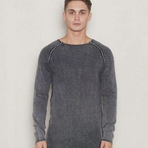 Adrian Hammond Buddy Knitted Sweater Dark Grey