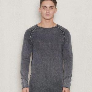 Adrian Hammond Buddy Knitted Sweater Dark Grey
