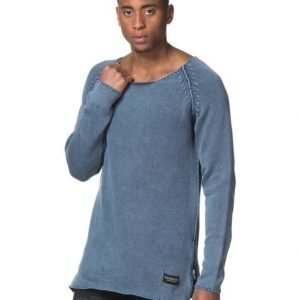 Adrian Hammond Buddy Knitted Sweater Washed Blue